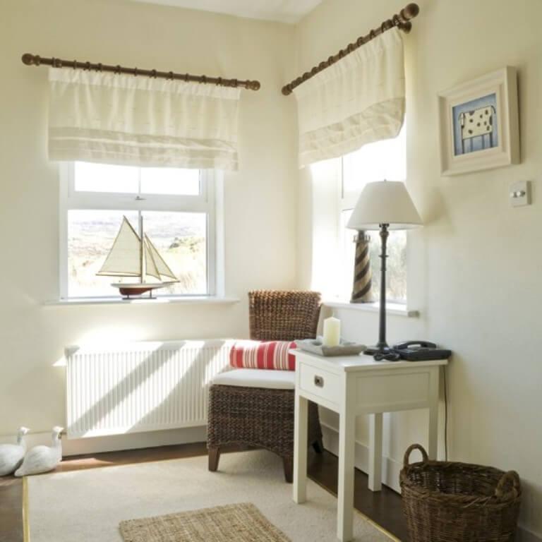 Vibrant Coastal Hallway Interior Design Ideas